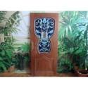 """Interiérové dveře s vitráží Tiffany 1 ,,80"""" cm, levé, pravé"""