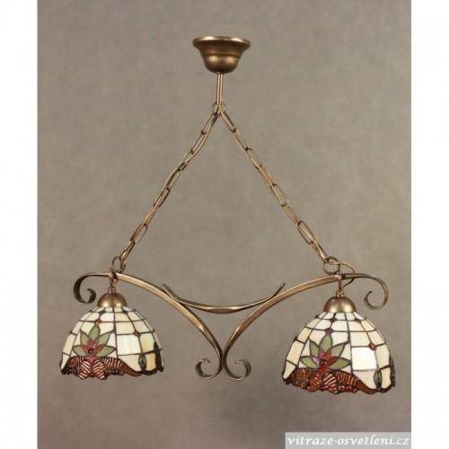 Závěsné Tiffany svítidlo 2 PM 18