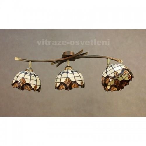 Stropní svítidlo Tiffany, 3 PPME 20