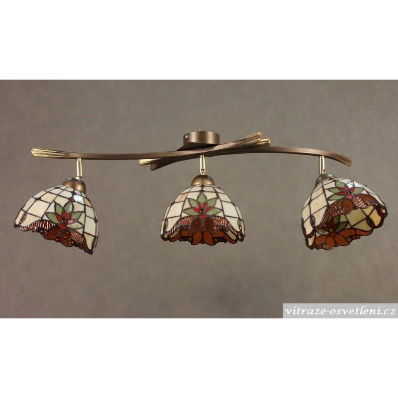 Stropní svítidlo Tiffany 3 PPM 18 (vitraze-osvetleni)