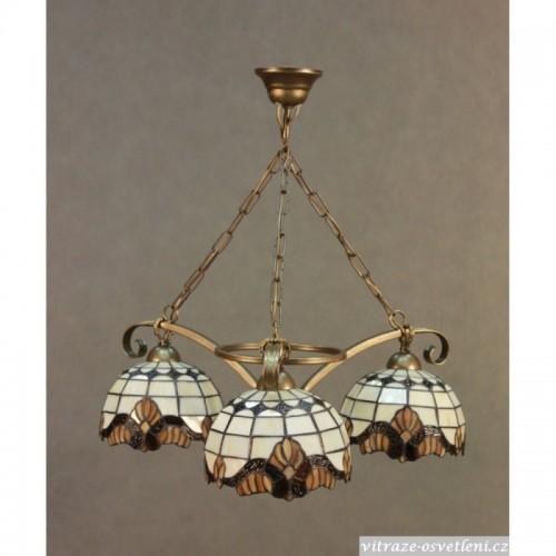Lustr Tiffany 3 PME 20 (vitraze-osvetleni)