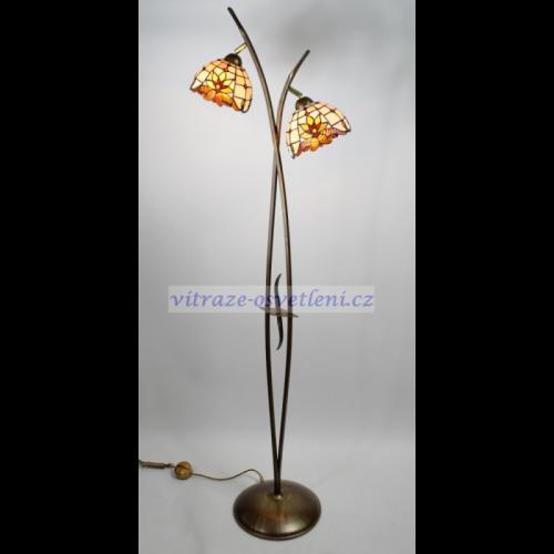 Stojací lampa Tiffany PPM 1818, 175 cm (borlodppkvst1818)