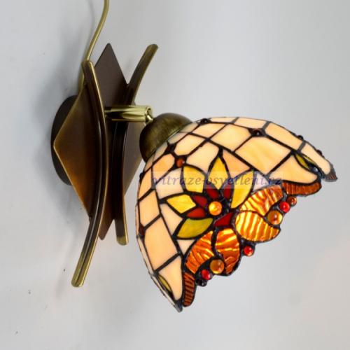 Nástěnné vitrážové svítidlo Tiffany PPM 18 (vitraze-osvetleni)