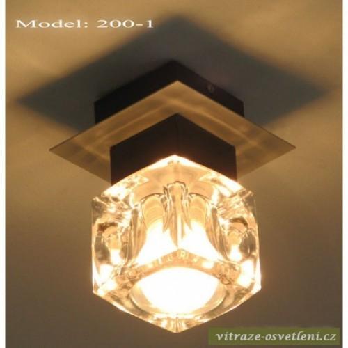 Moderní stropní svítidlo KR 200-1 na 1 žárovku
