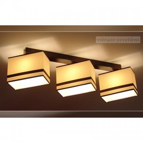 Moderní stropní svítidlo AB 236-B3, 3x E27