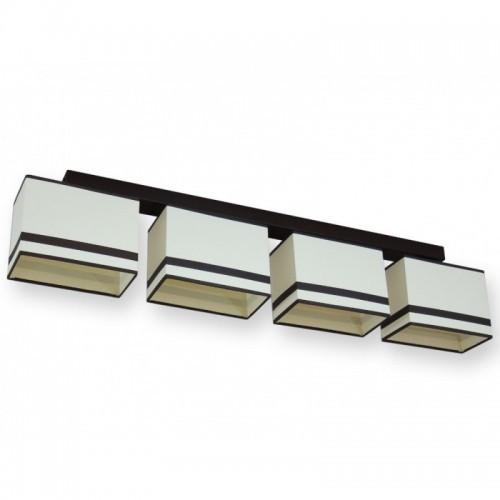 Moderní stropní svítidlo AB 236-B4, 4x E27