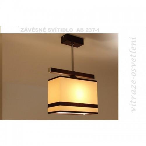 Moderní závěsné svítidlo AB237-1, 1x E27