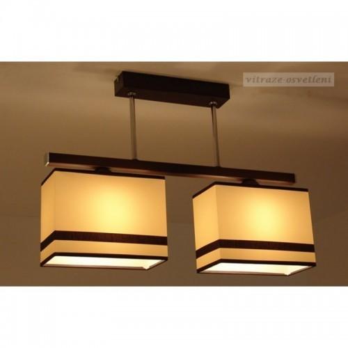 Moderní závěsné svítidlo ABB237-2, 2x E27