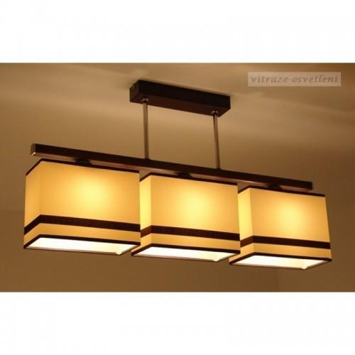 Moderní závěsné svítidlo AB 237-3, 3x E27