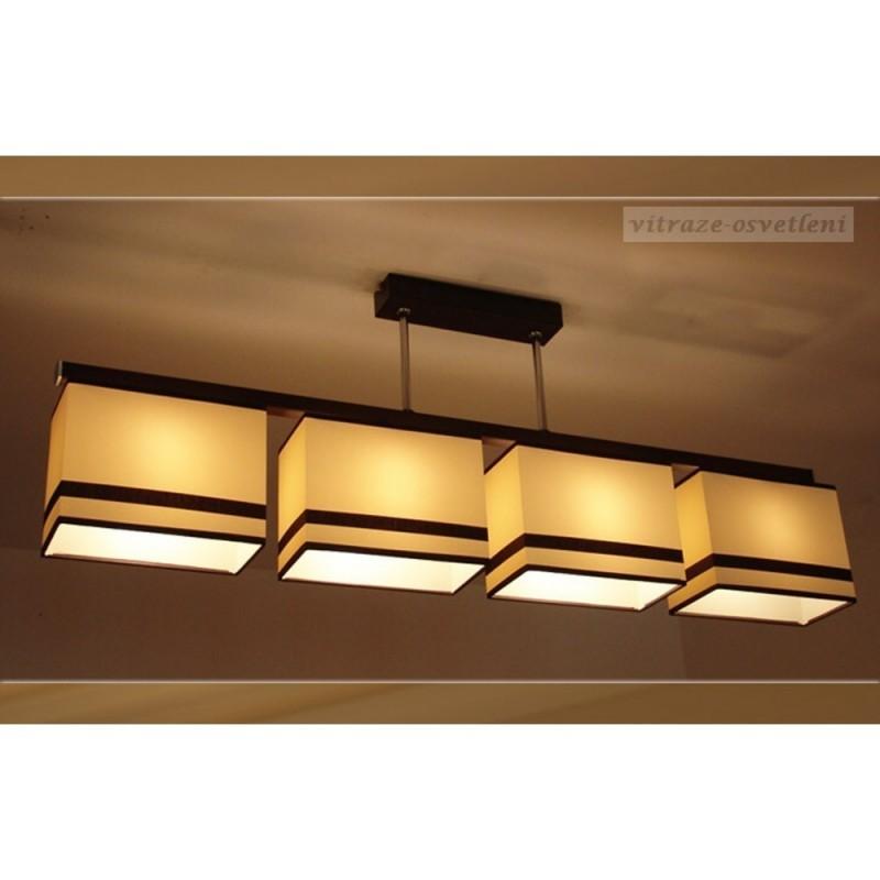Moderní závěsné svítidlo AB 237-4, 4x E27