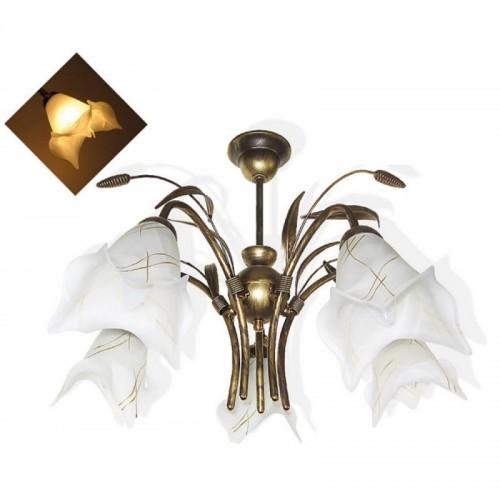 Klasický závěsný lustr AL 212-5, 5xE27