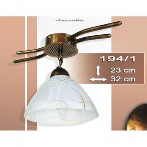 Stropní, závěsné moderní svítidlo I 194-1, 1x E27/60W