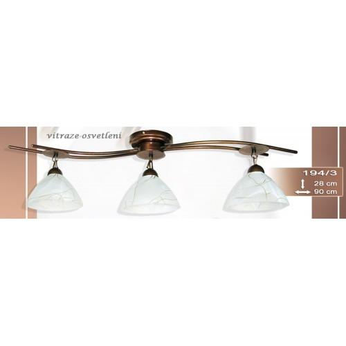 Stropní, závěsné moderní svítidlo I 194-3, 3x E27/60W