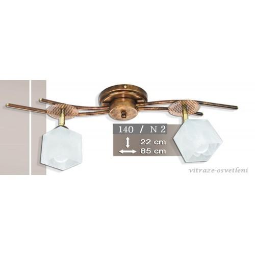 Moderní stropní lustr K140-N2, 2x E14/40W