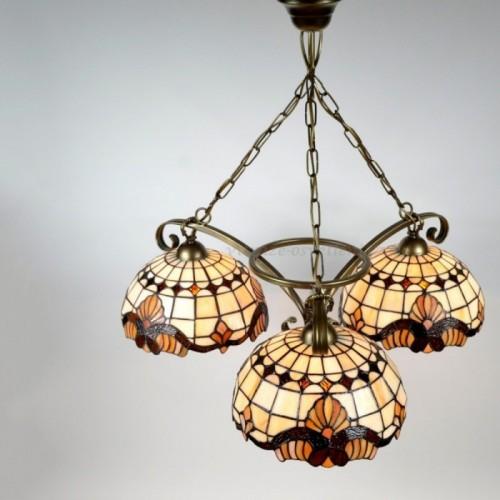 Lustr Tiffany 3 PME 25 (vitraze-osvetleni)