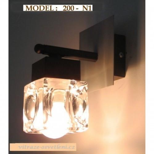 Nástěnné svítidlo KR 200-N1, E14/40W
