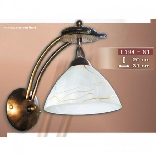Nástěnné svítidlo I 194-N1, E27/60W