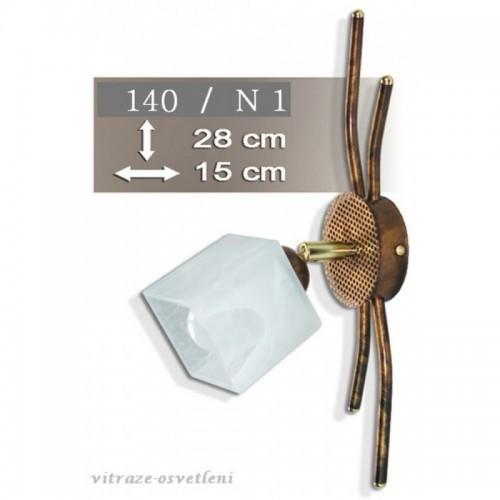 Nástěnné svítidlo K140-N1, E14/40W