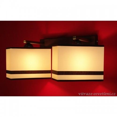 Moderní nástěnné svítidlo AB 236-N2, 2xE27/60W