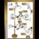 Nástěnná lampa klasická ZR 187-N1, E14/40W