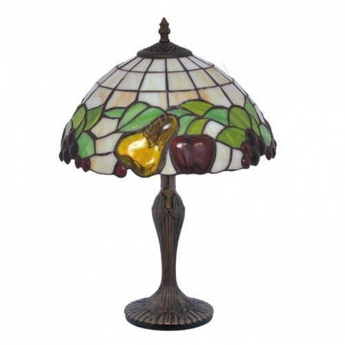 Vitrážová stolní lampa G-K12550