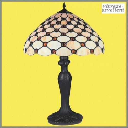 Vitrážová stolní lampa G-K16941