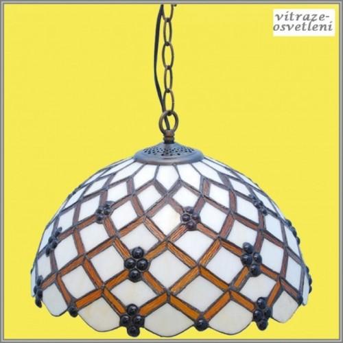 Vitrážový lustr P-K162575