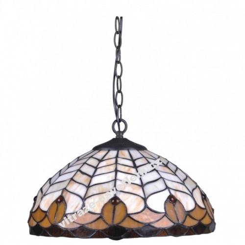 Vitrážový závěsný lustr P-K161551