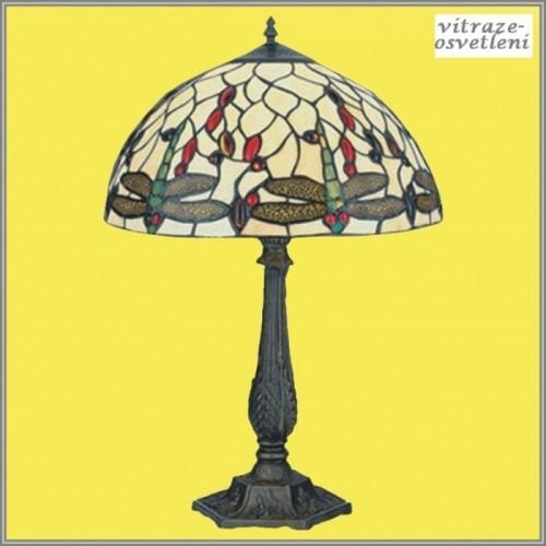 Vitrážová stolní lampa G-K16498