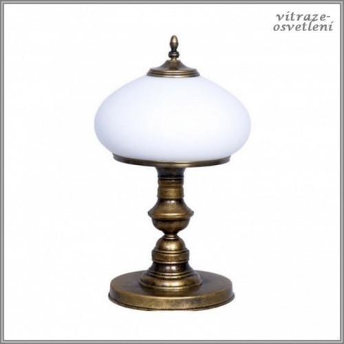 Klasická stolní lampa Patyna VIII-493 B-Aldex