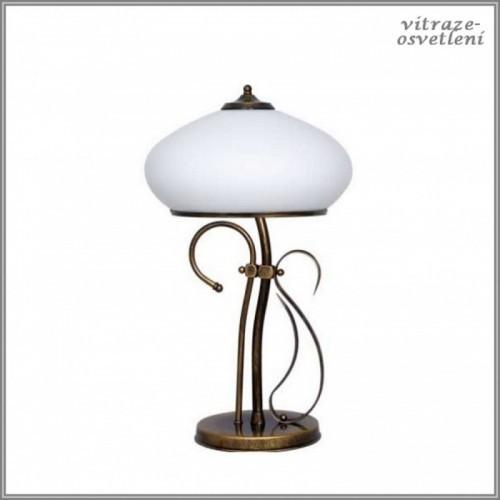 Stolní klasická lampa Patyna VIII-Aldex 493 B1