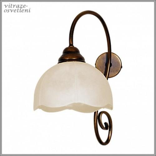 Klasická nástěnná lampa B399C