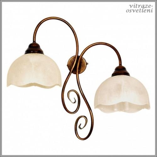 Klasická nástěnná lampa B399D