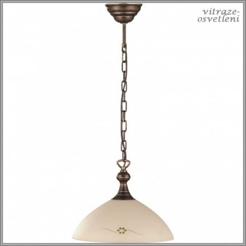 Klasický závěsný lustr H377G, 1xE27/60W