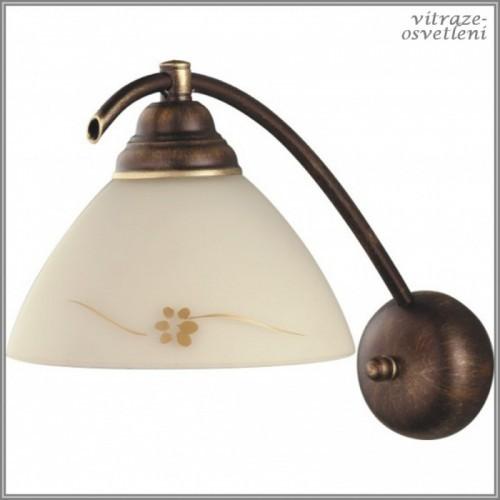Klasická nástěnná lampa H377C, 1xE27/60W