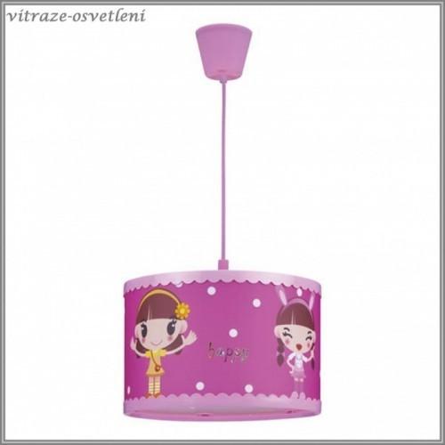 Dětský závěsný lustr M-KD14009-1CAN