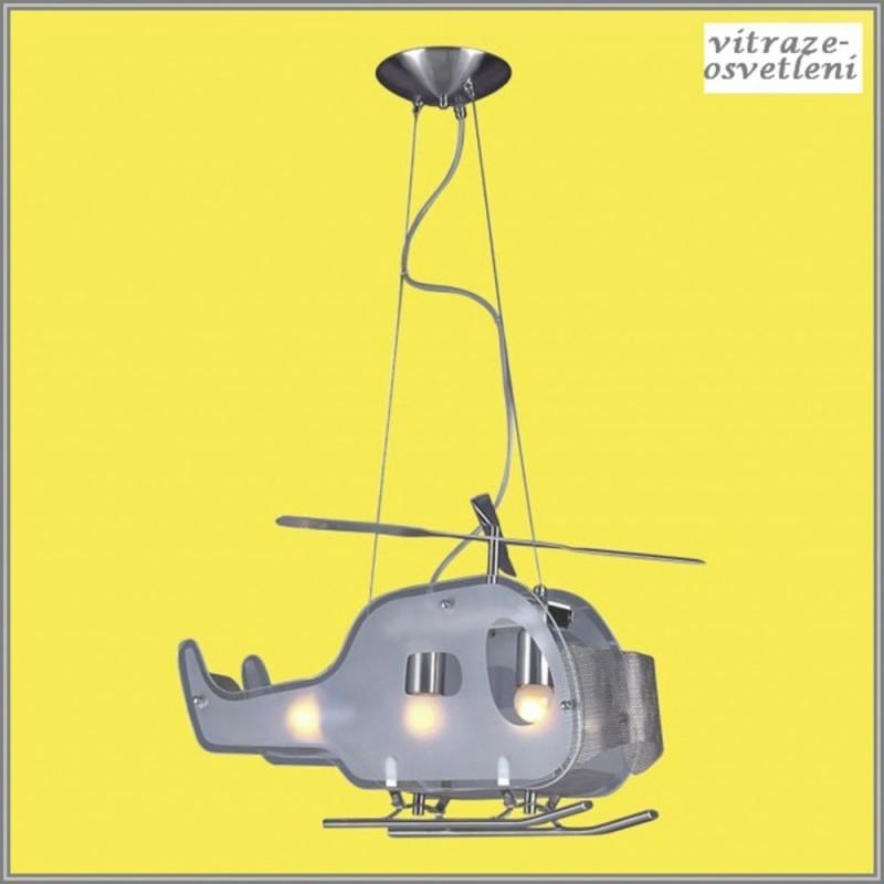 Dětský lustr Helikoptéra M-KD118-3