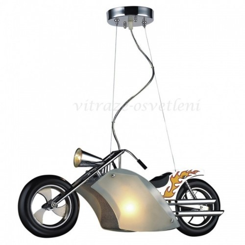 Dětský lustr Motorka M-KD5037-3A