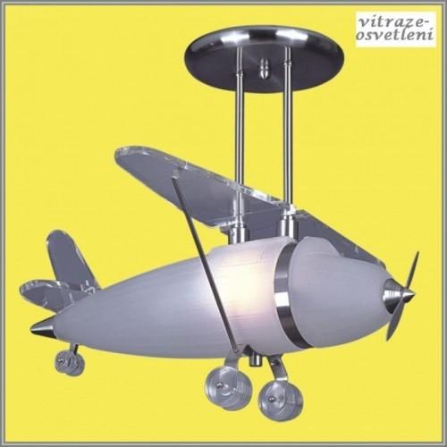 Dětský lustr Letadlo M-KX118-1A, DOPRAVA ZDARMA!