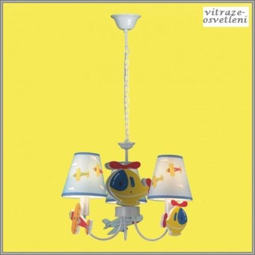 Dětský lustr M-KD8069-3C