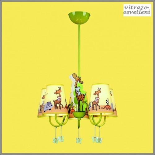 Dětský lustr M-KD11020-5A