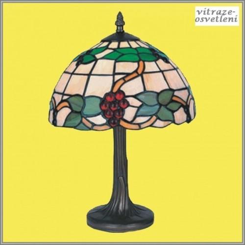 Stolní vitrážová lampa G-K10279