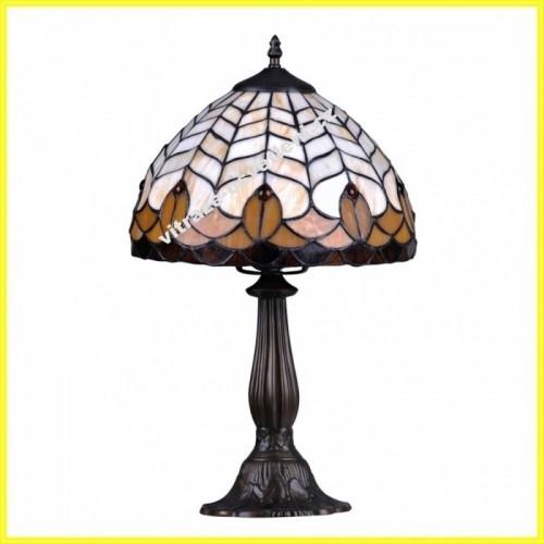 Vitrážová stolní lampa G-K081551, 37 cm