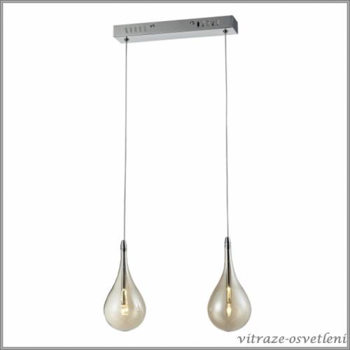 Moderní závěsné svítidlo Ferrara LF2-300/2, žárovky ZDARMA!