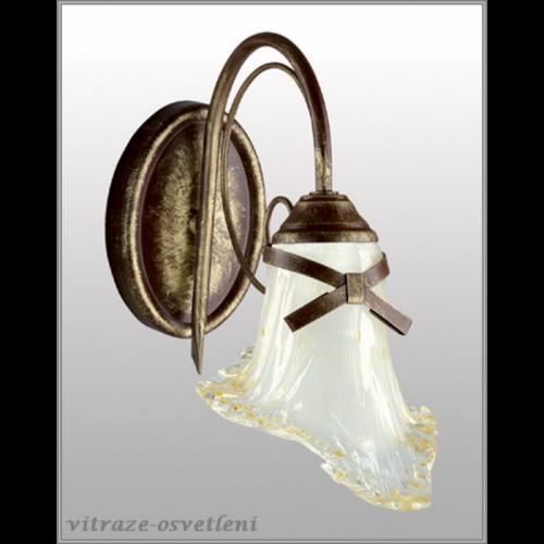 Klasická nástěnná lampa LK080/K