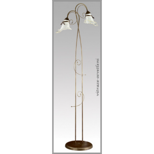 Klasická stojanová lampa LK 080/ST Kokardka