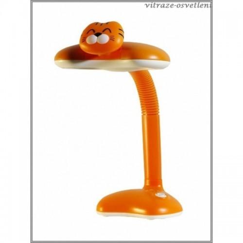 Dětská stolní lampička T6218 ORANŽOVÁ