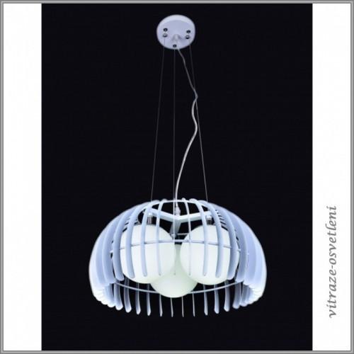 Moderní závěsné svítidlo L313/A BÍLÁ