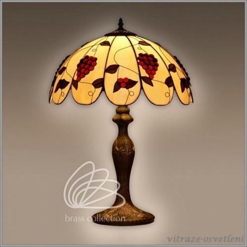 Vitrážová stolní lampa G162373 (Kando)