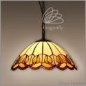 Vitrážový lustr P163009 Flambe (Kando)